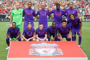 Liverpool's starting  XI